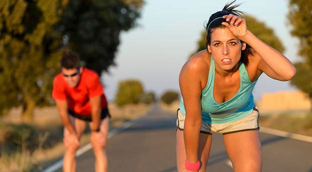 cansancio energia entrenamiento